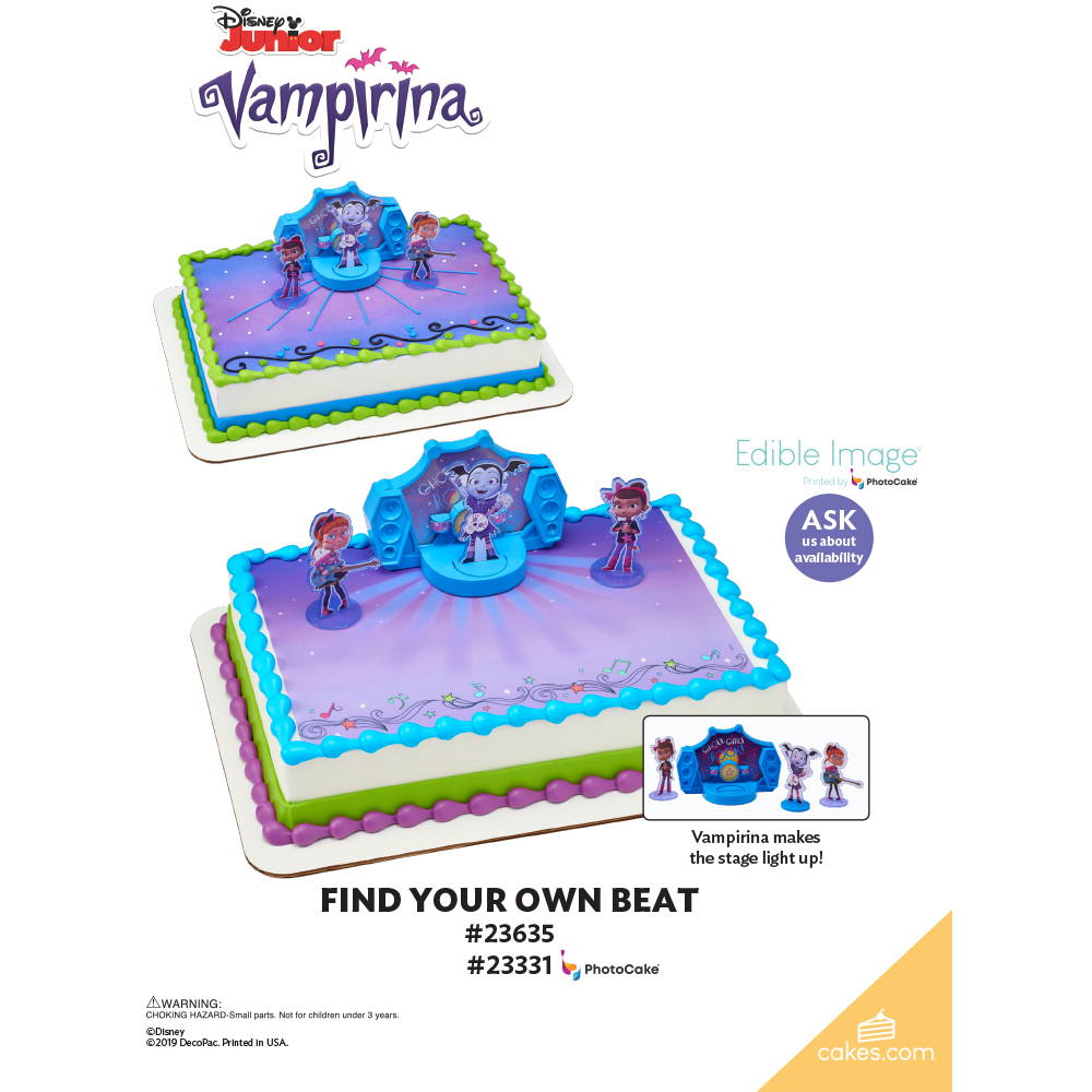 Vampirina Find Your Own Beat The Magic of Cakes® Page