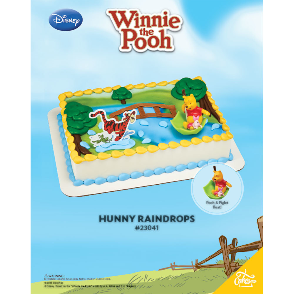 Winnie The Pooh Hunny Raindrops DecoSet® The Magic of Cakes® Page