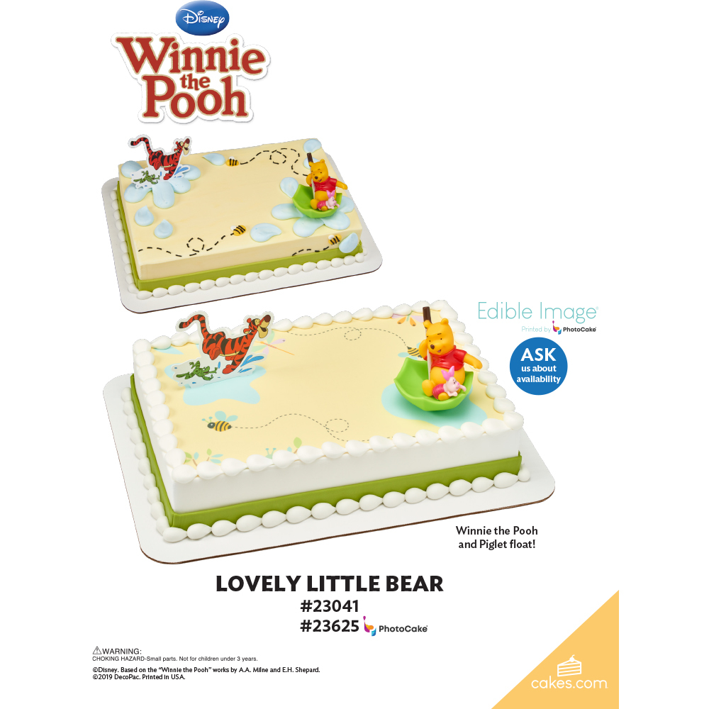 Winnie the Pooh Lovely Little Bear The Magic of Cakes® Page