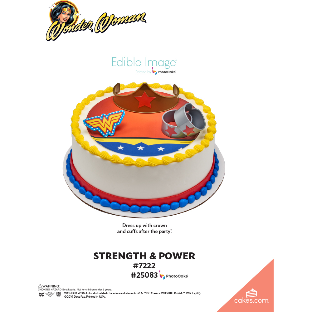 Wonder Woman™ Strength & Power The Magic of Cakes® Page
