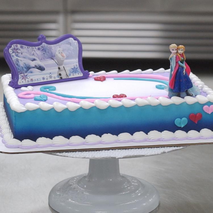 Frozen Follow Your Heart Decoset Cake Design Decopac