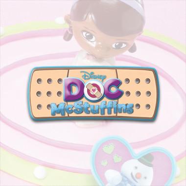 Toys 17801 Decopac Doc McStuffins Doc and Lambie DecoSet Cake Topper Decopac