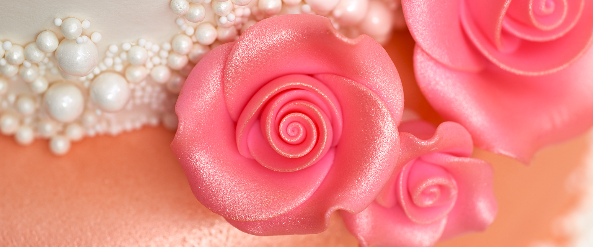 Sugar Soft Roses Cake Decorations for Cake Decorators