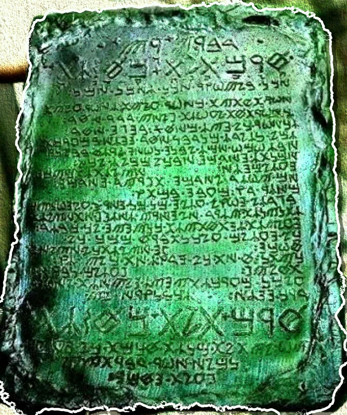 The Emerald Tablets A Year Old Alchemists Guidebook - Explorers discover ancient 1200 year old egyptian city