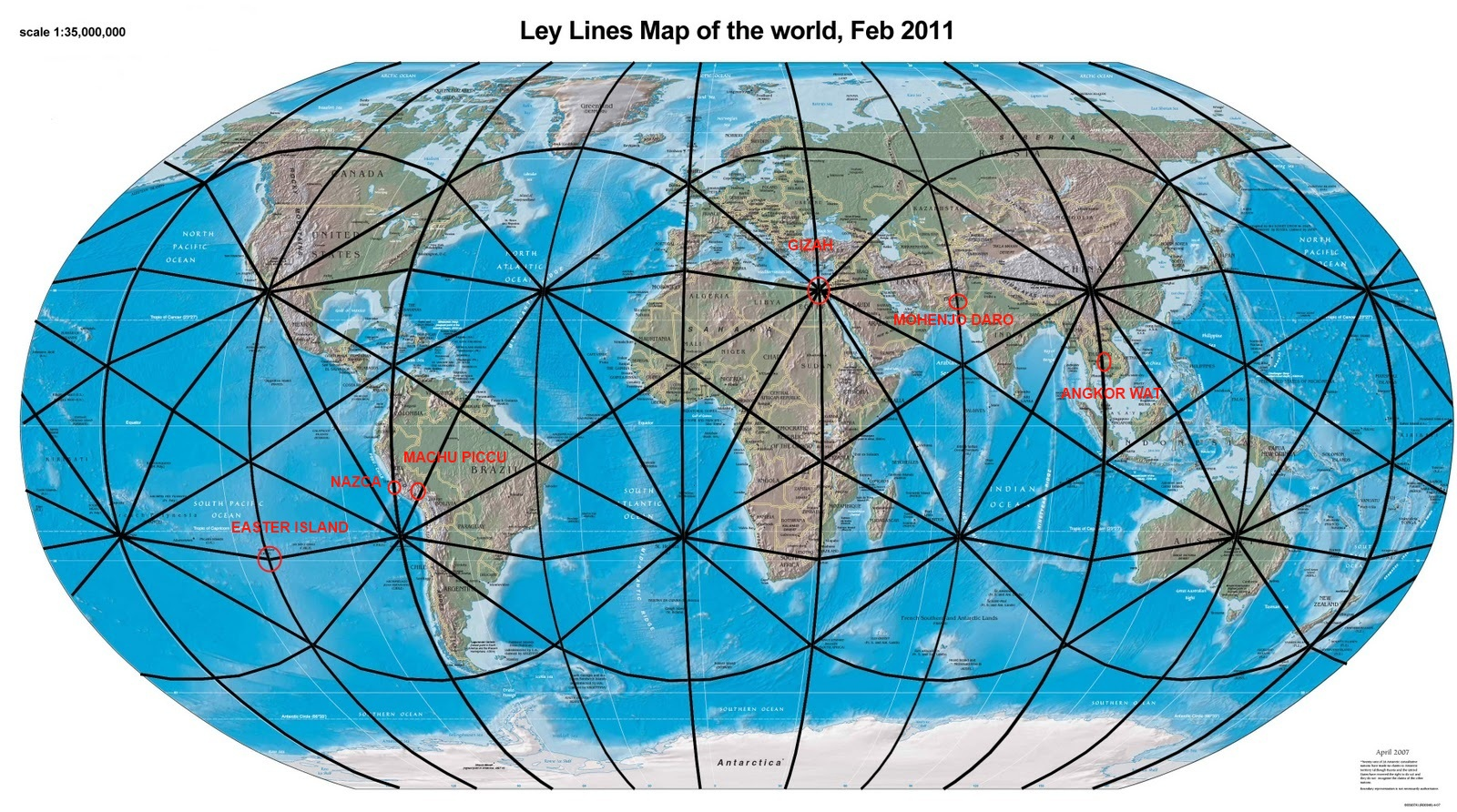 Ley Lines 1 - World View