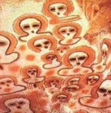 Ancient Chinese paintings clearly documented aliens