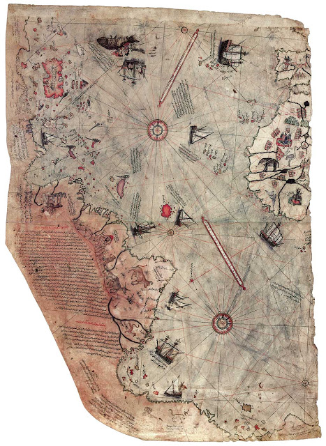 Piri-Reis-map