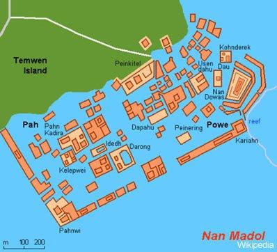 Nan-Madol-map