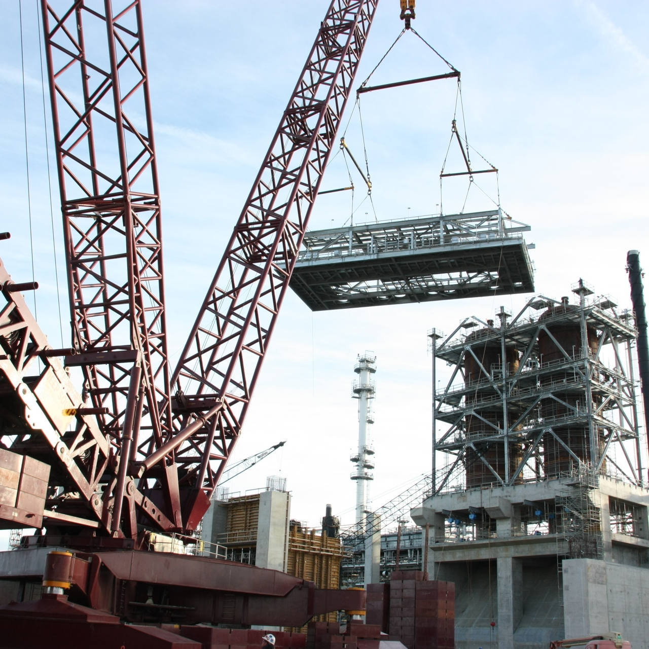 Deep South Crane Rigging Services
