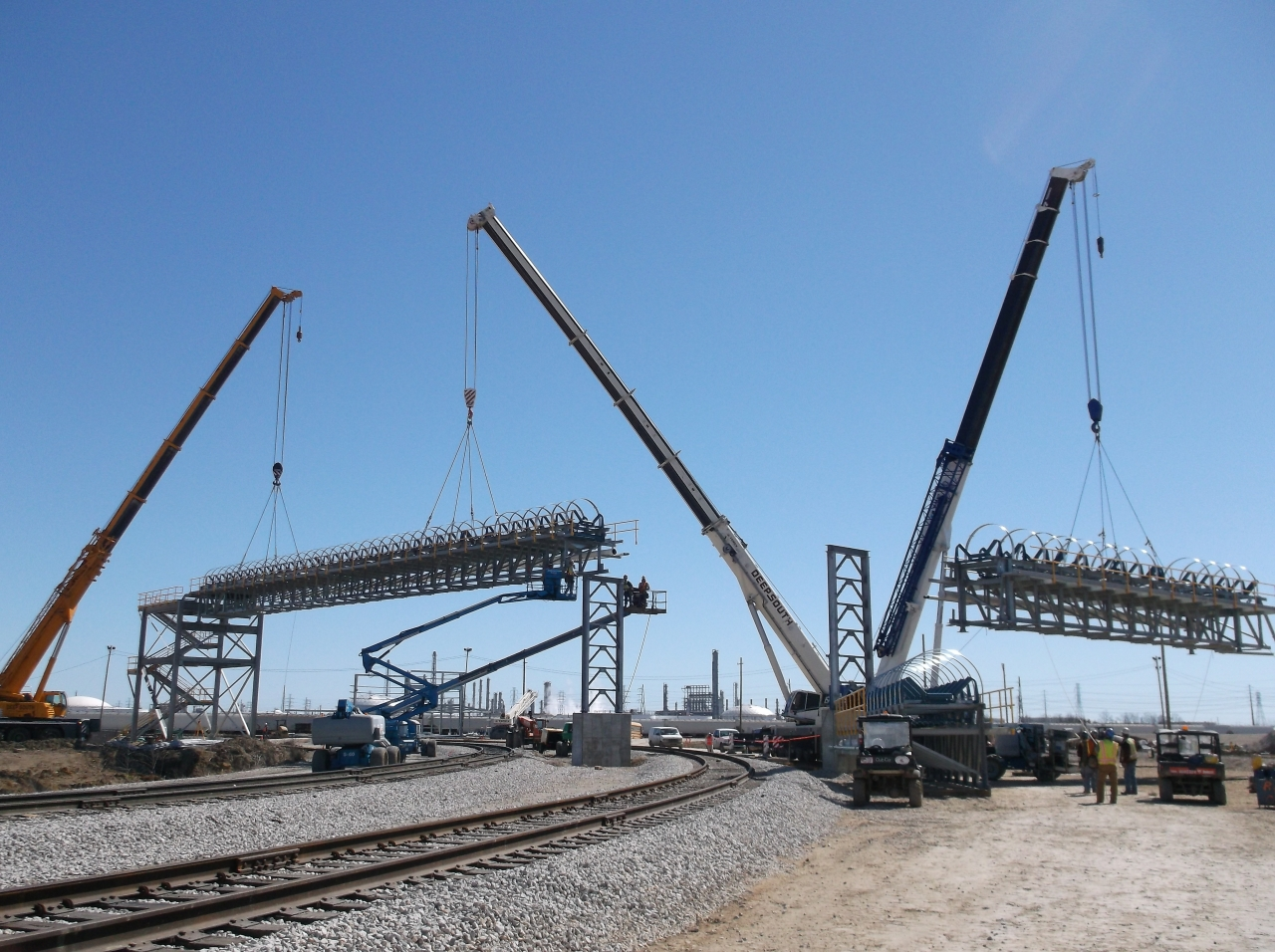Heavy Lift Services in Steel & Mining