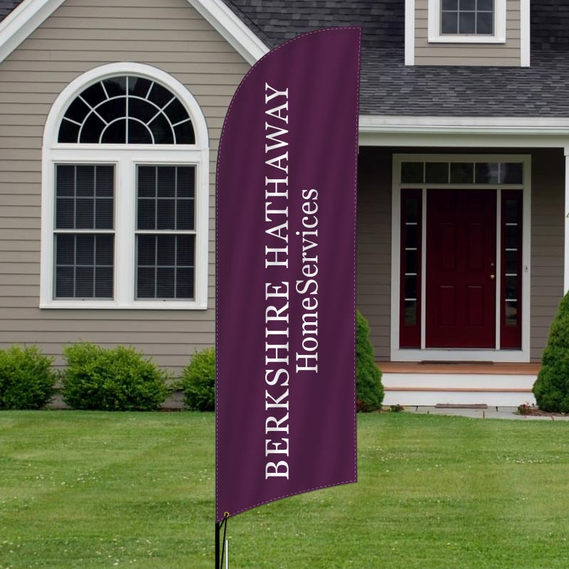 BHHS HWWB, REALTORS Feather Flags-BHH1F_148