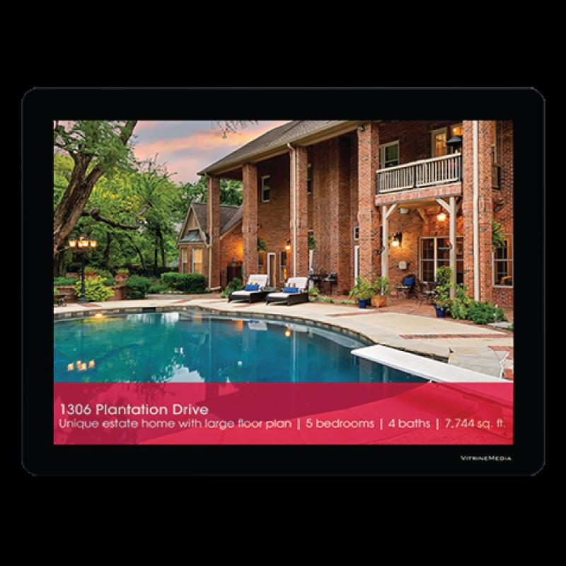 Backlit Displays - Real Estate -VMBOLDCLIPAF_162