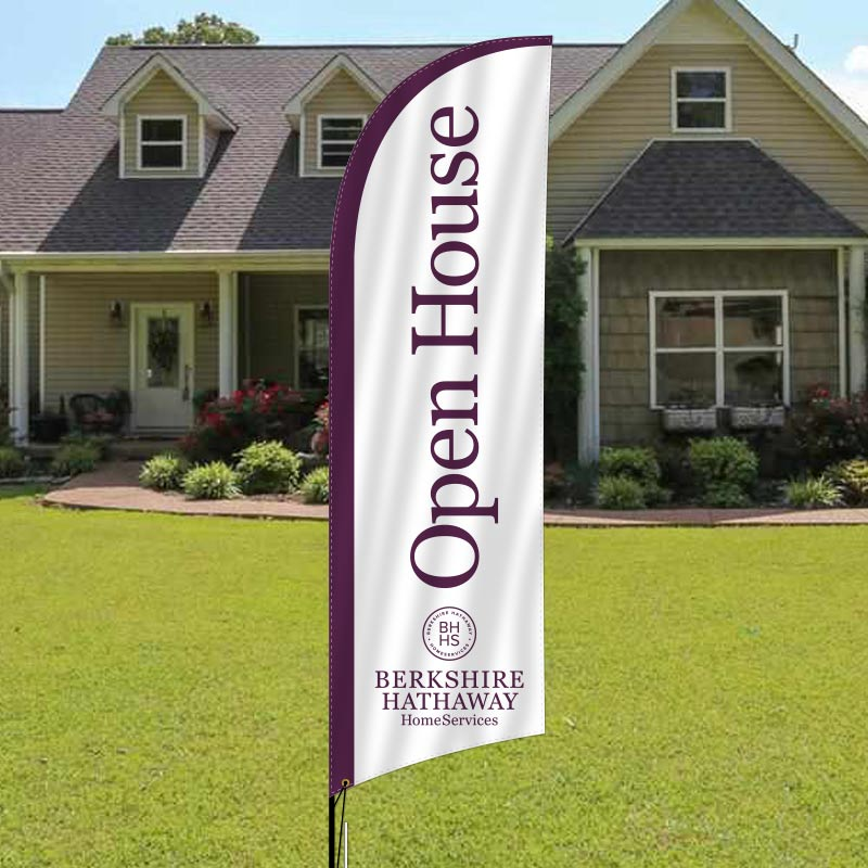 Berkshire Hathaway HomeServices Feather Flags-BHH7F_119