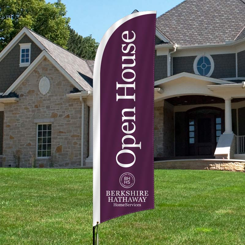 Berkshire Hathaway HomeServices Feather Flags-BHH8F_119