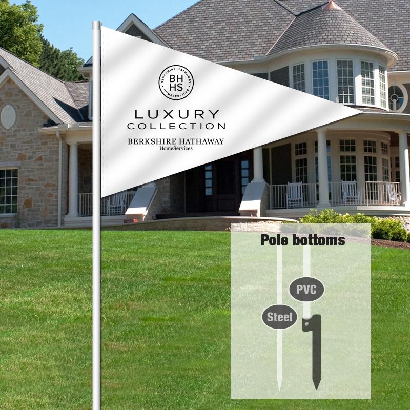 Berkshire Hathaway HomeServices Pennant Flag-BHHSKUX2_FLG_119