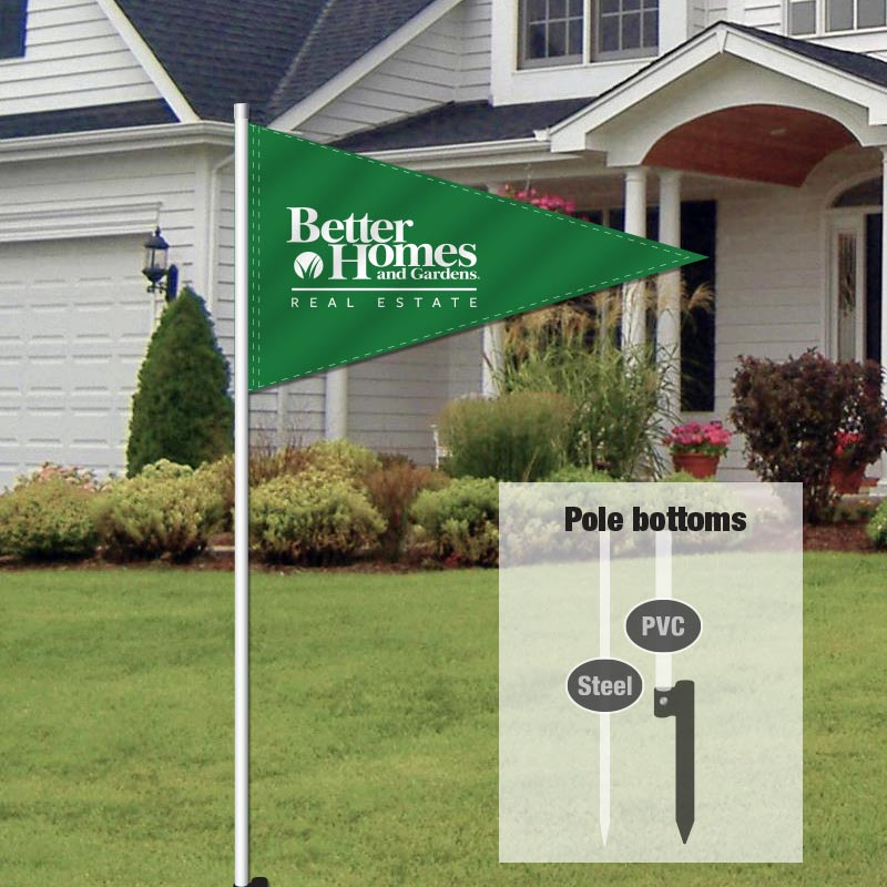Flags for model homes