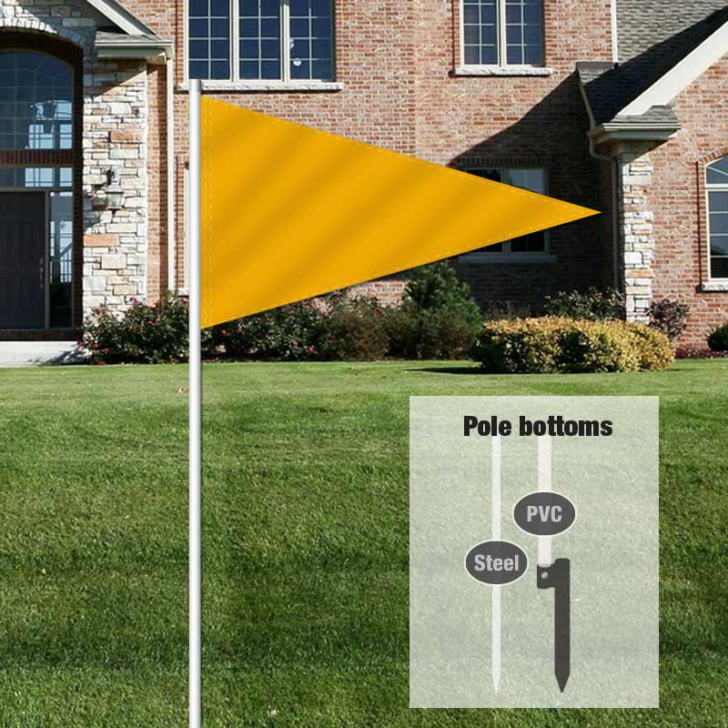 Builders & Contractors Signs Pennant Flag-GOLD0001_FLG_8