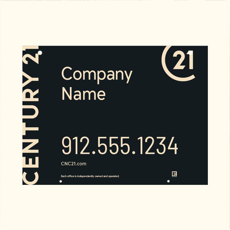 Century 21® Hanging Sign Panels-18X24HO_DES1BHC_200