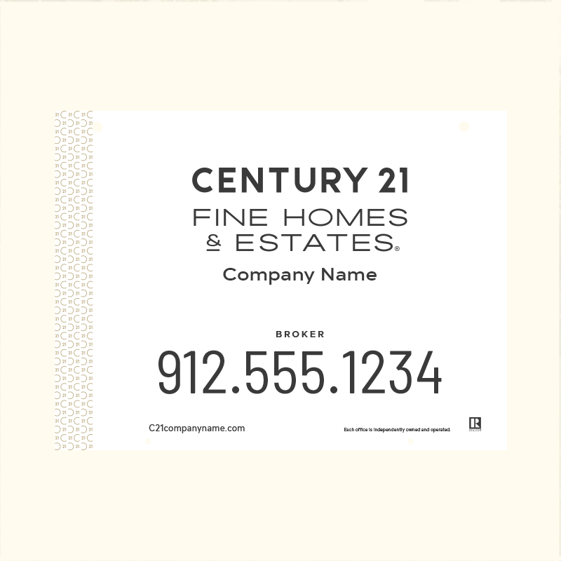 Century 21® Hanging Sign Panels-18X24H_FHE_BRK1_200