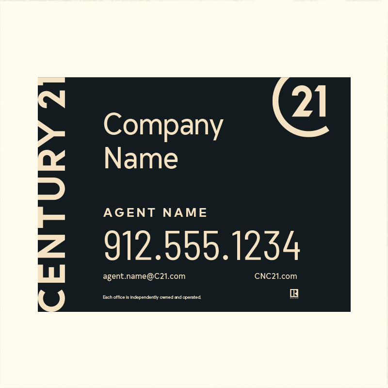 Century 21® Hanging Sign Panels-18X24RA_DES1BHC_200
