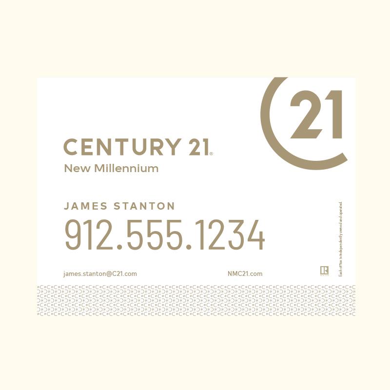 Century 21® Hanging Sign Panels-18X24RA_DES2W_200