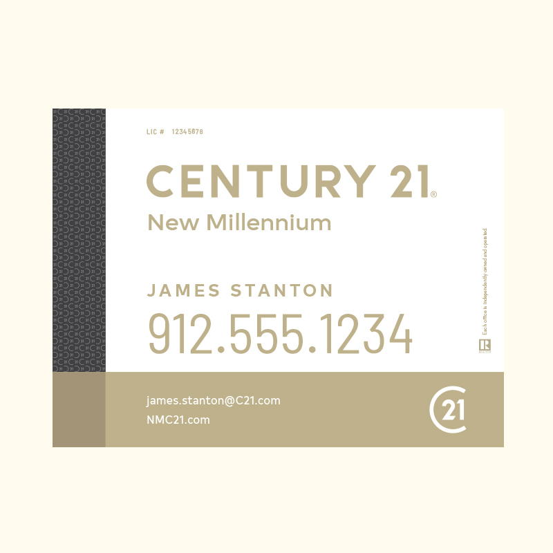 Century 21® Hanging Sign Panels-18X24RA_DES3W_200