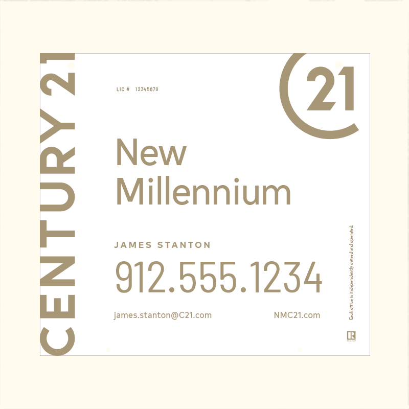 Century 21® Hanging Sign Panels-22X24HA_DES1W_200