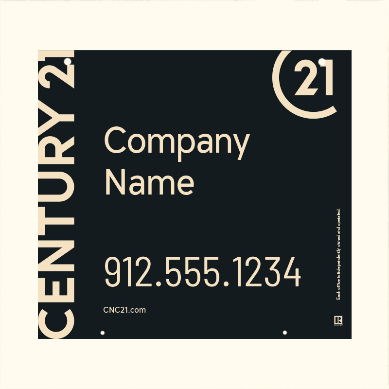 Century 21® Hanging Sign Panels-22X24HO_DES1BHC_200