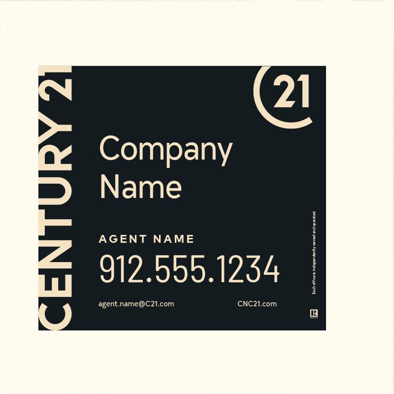 Century 21® Hanging Sign Panels-22X24RA_DES1BHC_200