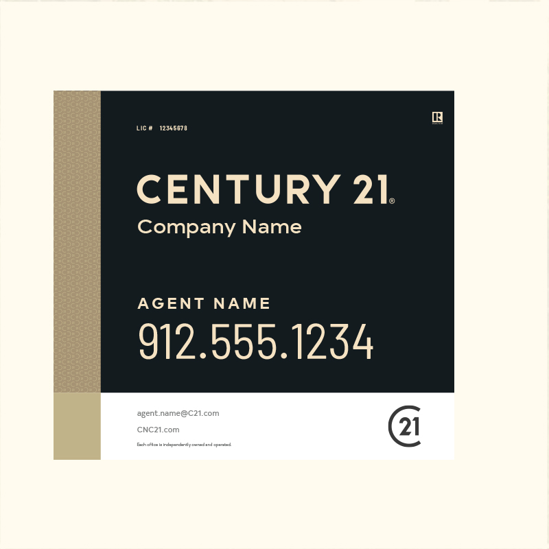 Century 21® Hanging Sign Panels-22X24RA_DES3BHC_200