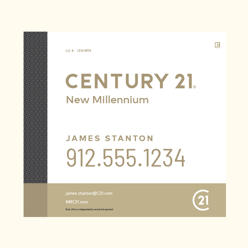 Century 21® Hanging Sign Panels-22X24RA_DES3W_200