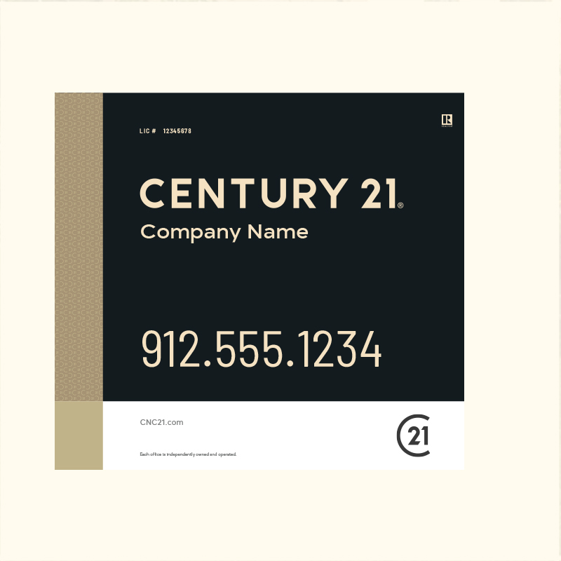 Century 21® Hanging Sign Panels-22X24RO_DES3BHC_200