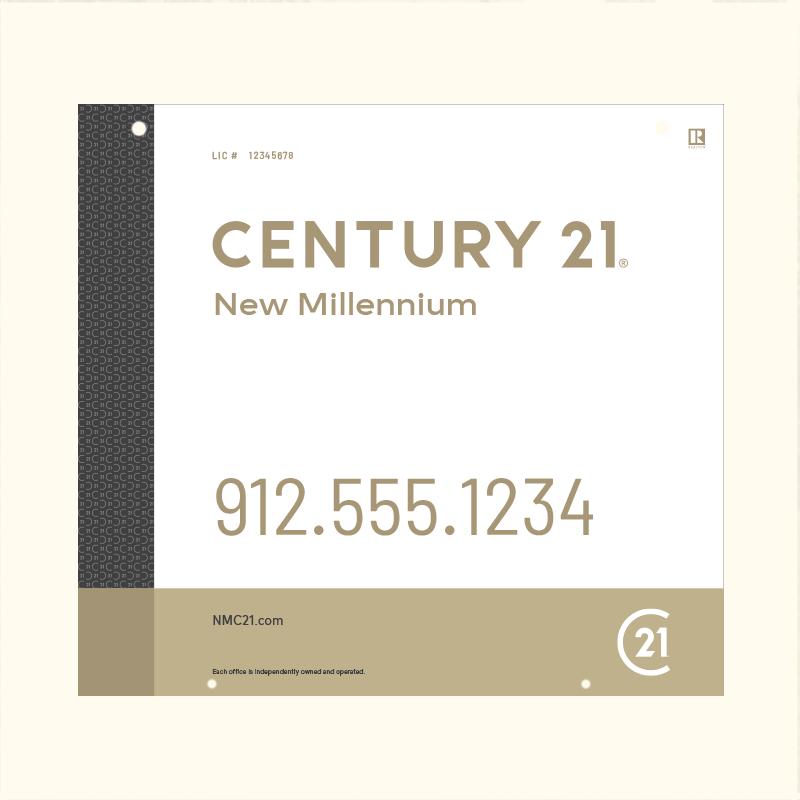 Century 21® Hanging Sign Panels-22X24RO_DES3W_200