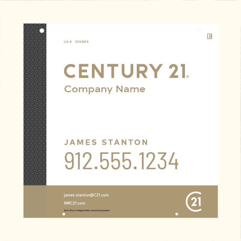 Century 21® Hanging Sign Panels-24X24HA_DES3W_200
