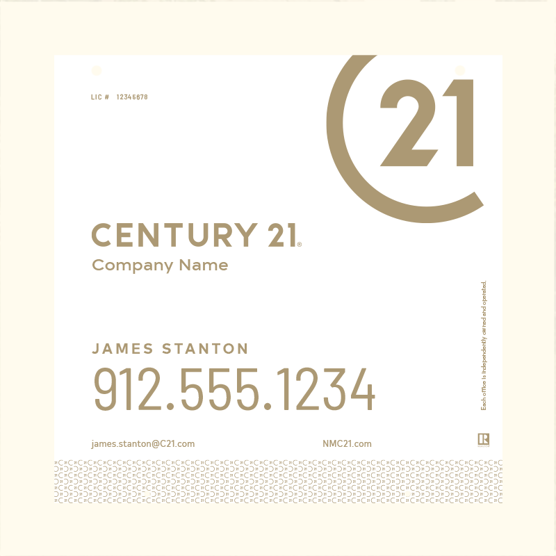 Century 21® Hanging Sign Panels-24X24HO_DES2W_200