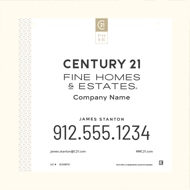Century 21® Hanging Sign Panels-24X24H_FHE_AGT1_200