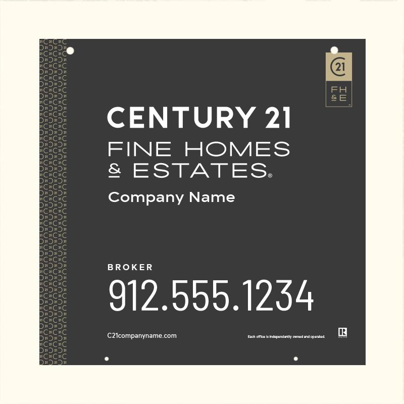 Century 21® Hanging Sign Panels-24X24H_FHE_BRK2_200
