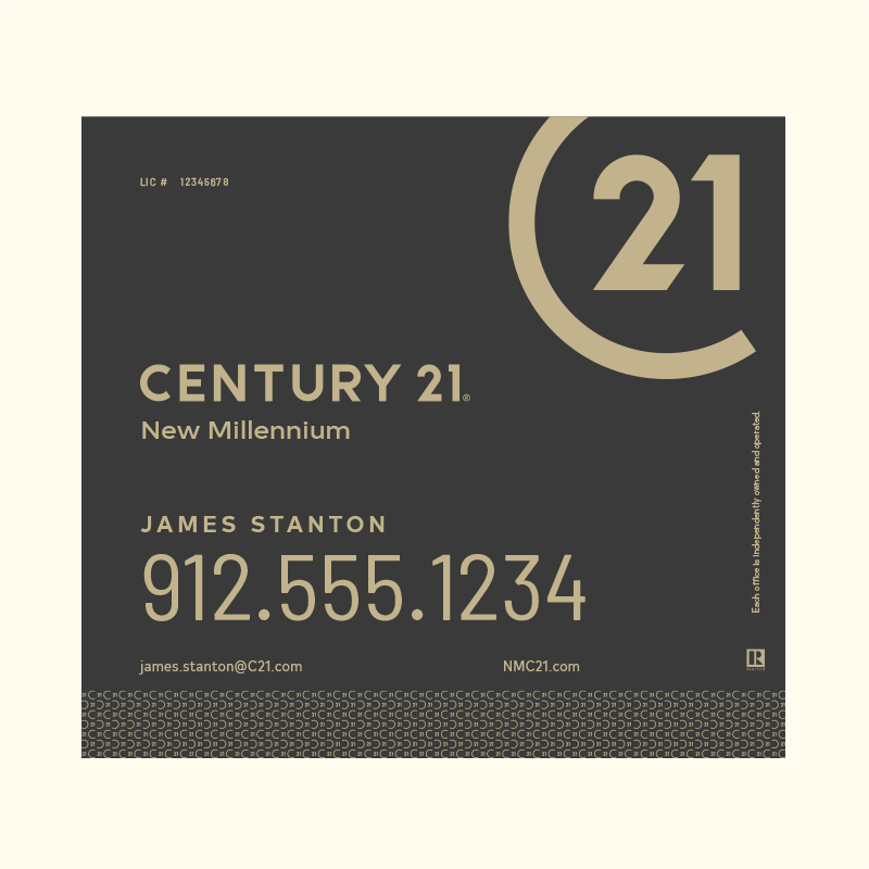 Century 21® Hanging Sign Panels-24X24RA_DES2B_200