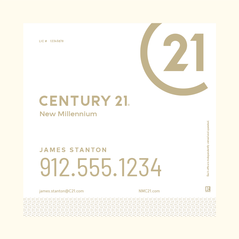 Century 21® Hanging Sign Panels-24X24RA_DES2W_200
