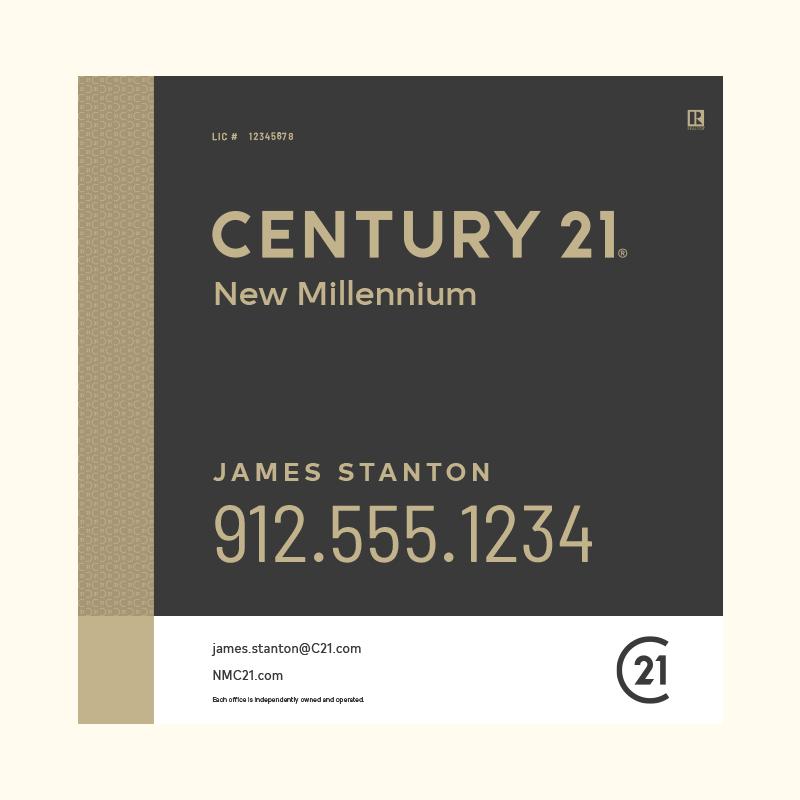 Century 21® Hanging Sign Panels-24X24RA_DES3B_200