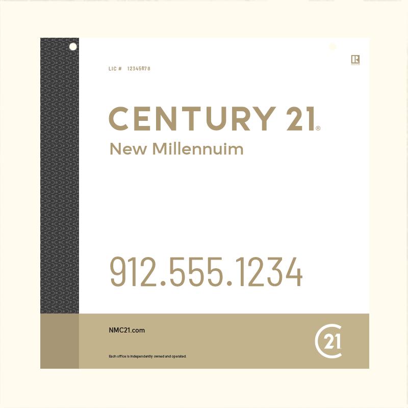 Century 21® Hanging Sign Panels-24X24RO_DES3W_200