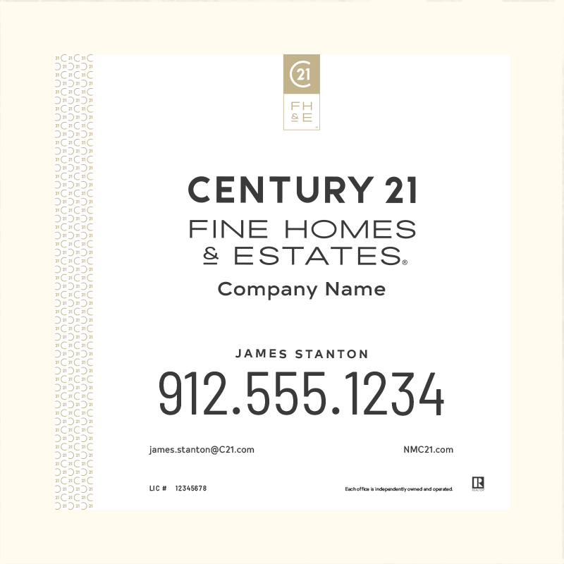 Century 21® Hanging Sign Panels-24X24_FHE_AGT1_200