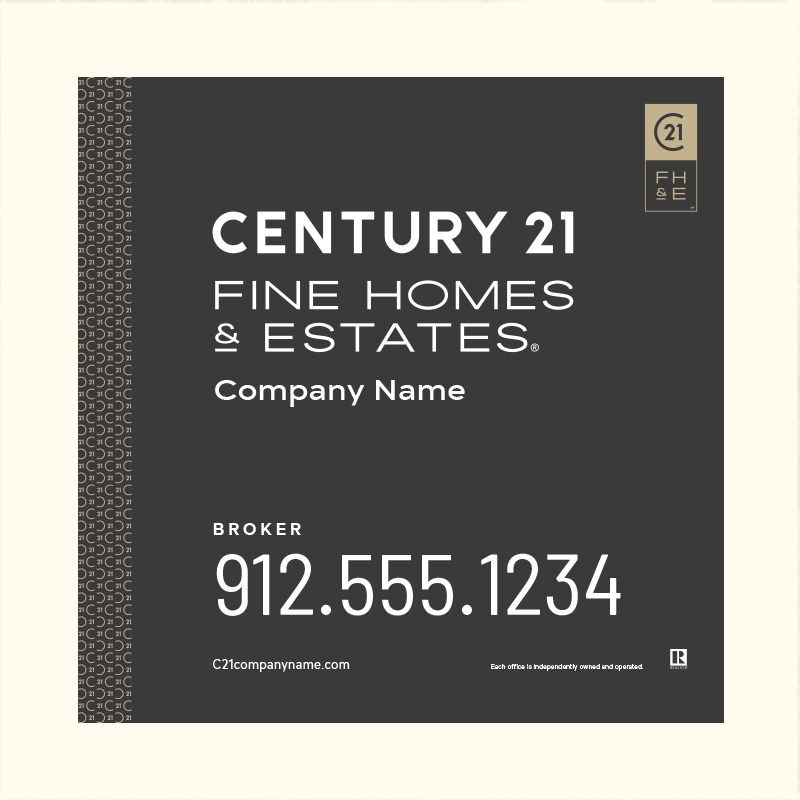 Century 21® Hanging Sign Panels-24X24_FHE_BRK2_200