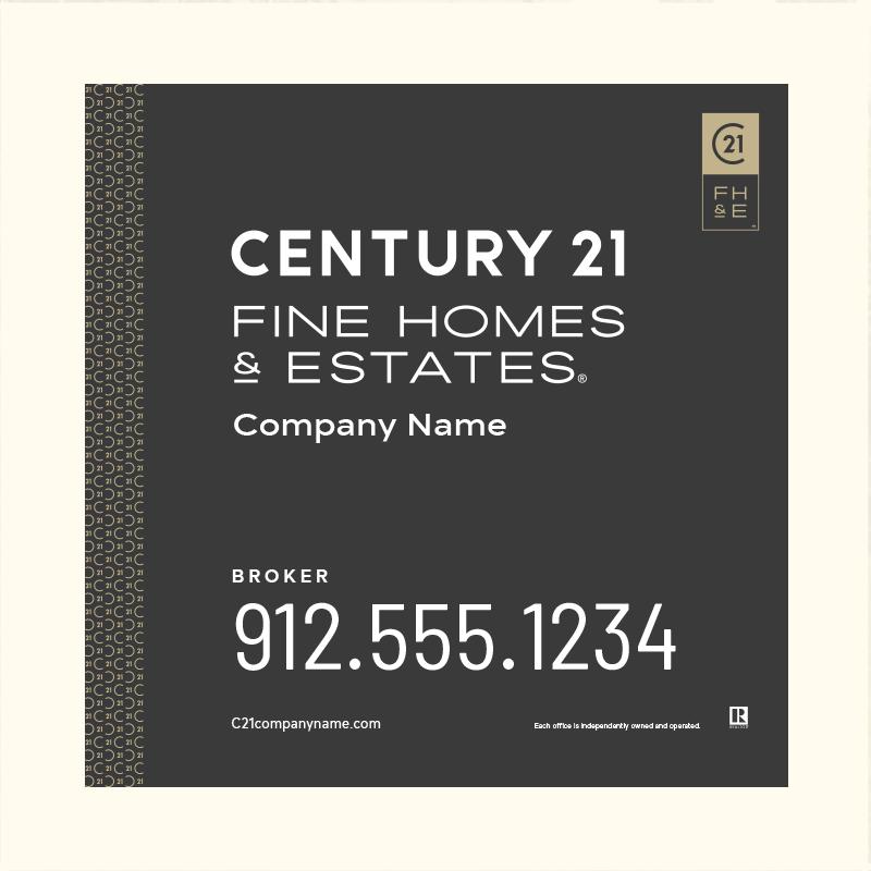 Century 21® Hanging Sign Panels-24X24_FHE_BRK2_200