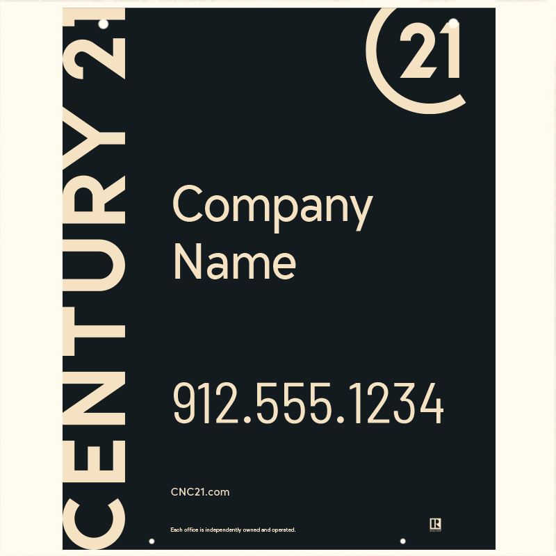 Century 21® Hanging Sign Panels-30X24HO_DES1BHC_200