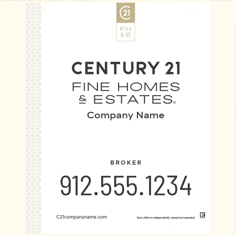 Century 21® Hanging Sign Panels-30X24H_FHE_BRK1_200