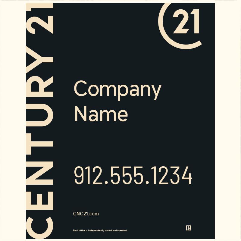 Century 21® Hanging Sign Panels-30X24RA_DES1BHC_200
