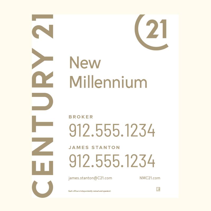 Century 21® Hanging Sign Panels-30X24RA_DES1W_200