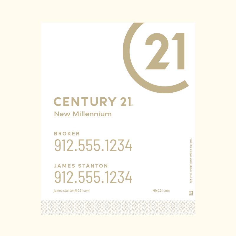 Century 21® Hanging Sign Panels-30X24RA_DES2WP2_200