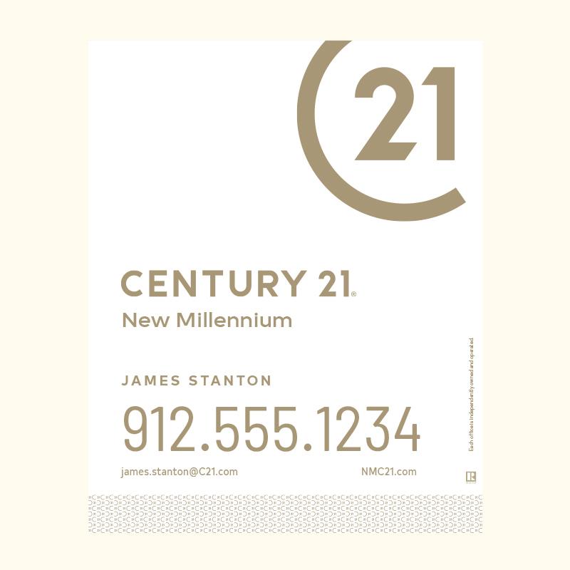 Century 21® Hanging Sign Panels-30X24RA_DES2W_200